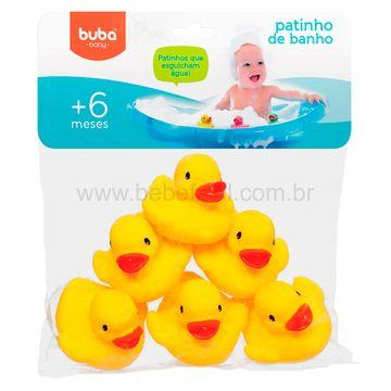 BUBA09684-A-Patinho-para-Banho-6un-Amarelo-6m---Buba