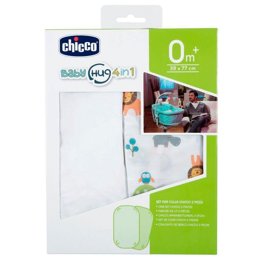 CH9014-B-A-Kit-2-lencois-de-baixo-c-elastico-para-Baby-Hug-4-em-1-Little-Animals-0m---Chicco