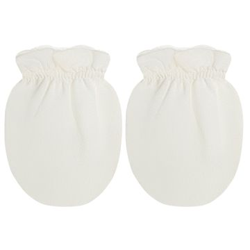 LUM00002395_B-moda-bebe-menino-menina-acessorios-kit-4-luvas-malha-branca-marfim-roana-no-bebefacil-loja-de-roupas-enxoval-e-acessorios-para-bebes