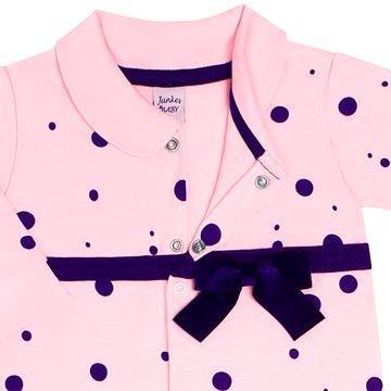 JUN40108-R_C-moda-bebe-menina-macacao-longo-em-suedine-poa---laco-rosa-junkes-baby-no-bebefacil-loja-de-roupas-enxoval-e-acessorios-para-bebes