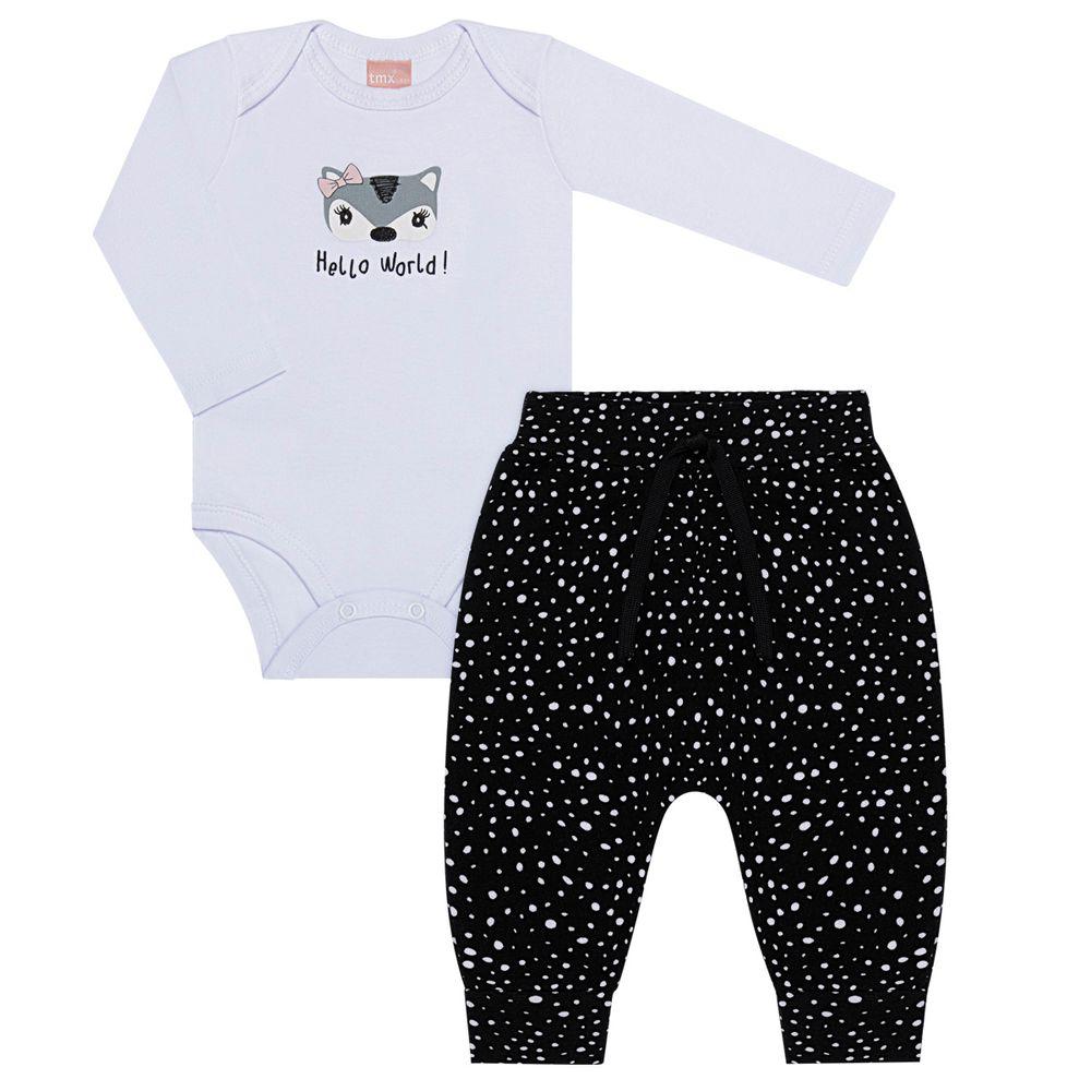 TMX0067-BR-P_A-moda-menina-conjunto-body-calca-saruel-branco-tmx-no-bebefacil-loja-de-roupas-enxoval-e-acessorios-para-bebes
