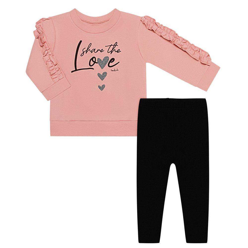 TMX1207-RS-1_A-moda-menina-conjunto-blusao-calca-legging-molecotton-rosa-cha-tmx-no-bebefacil-loja-de-roupas-enxoval-e-acessorios-para-bebes