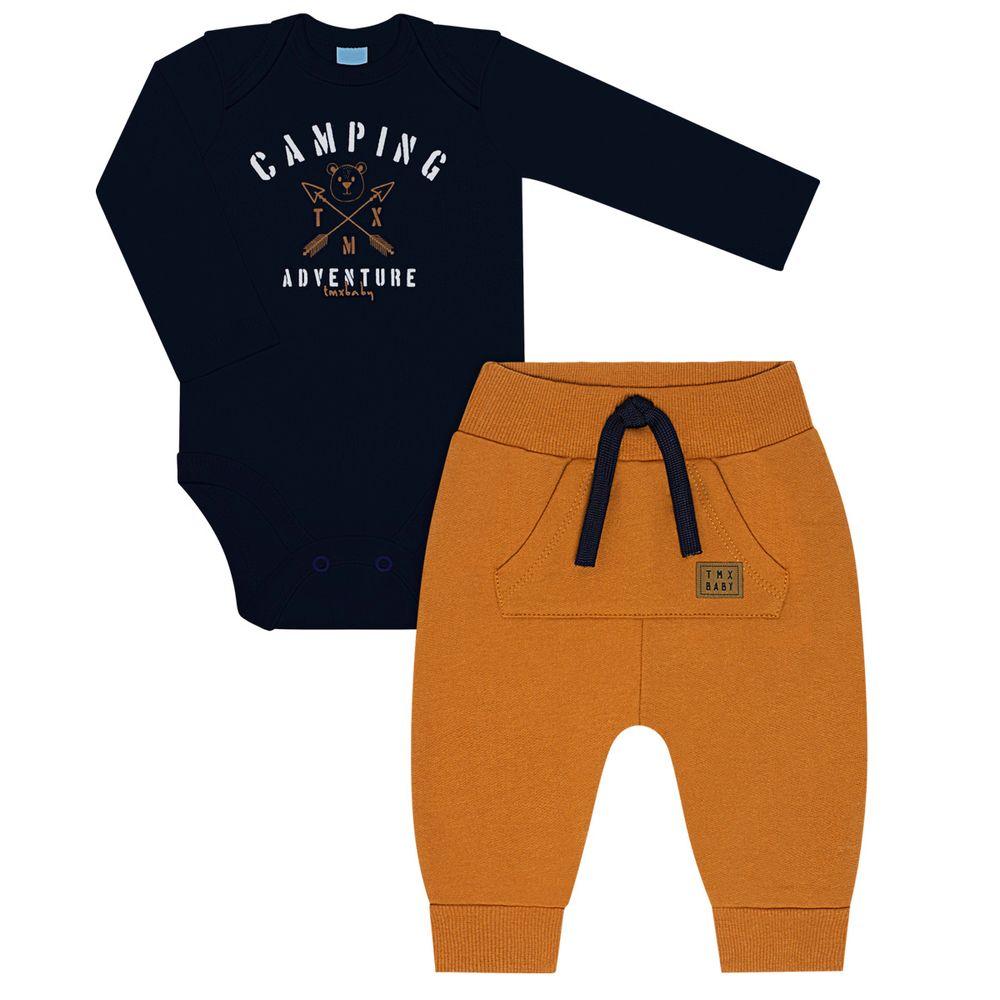 TMX4074-MR-P_A-moda-bebe-menino-conjunto-body-longo-calca-moletom-camping-marinho-tmx-no-bebefacil-loja-de-roupas-enxoval-e-acessorios-para-bebes