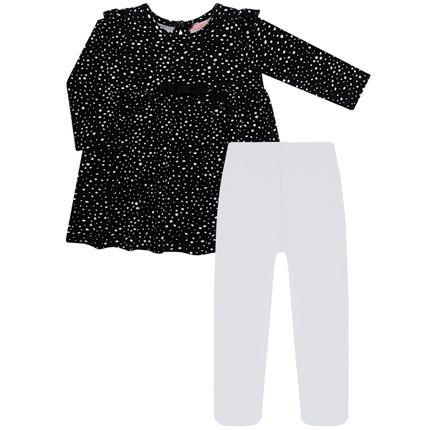 TMX0066-PT-P_A-moda-menina-vestido-meia-calca-cottom-preto-tmx-no-bebefacil-loja-de-roupas-enxoval-e-acessorios-para-bebes
