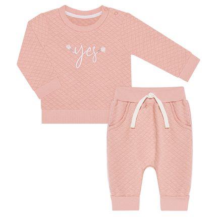 TMX0071-RS-P_A-moda-bebe-menina-conjunto-blusao-calca-moletom-matelassado-rosa-cha-tmx-no-bebefacil-loja-de-roupas-enxoval-e-acessorios-para-bebes