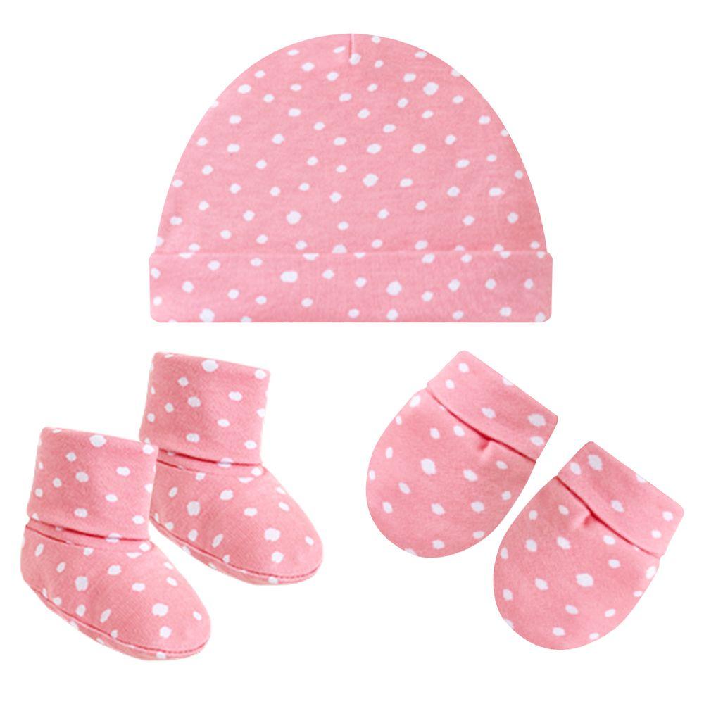 PL66416-A-moda-bebe-menina-acesssorios-kit-touca-luva-sapatinho-em-suedine-poa-rosa-pingo-lele-no-bebefacil-loja-de-roupas-enxoval-para-bebes