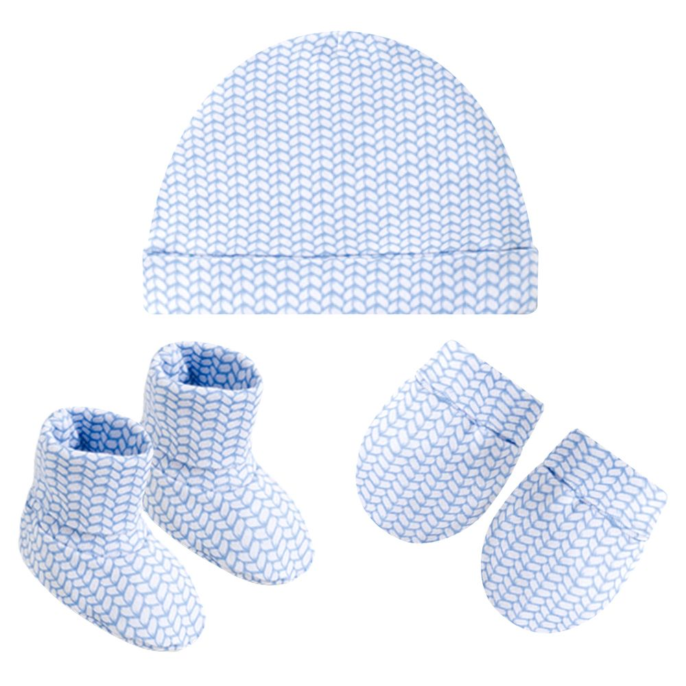 PL66470-A-moda-bebe-menino-acesssorios-kit-touca-luva-sapatinho-em-suedine-trico-azul-pingo-lele-no-bebefacil-loja-de-roupas-enxoval-para-bebes