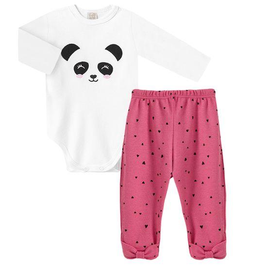 PL66449-A-moda-bebe-menina-conjunto-body-longo-calca-mijao-para-bebe-em-suedine-pandinha-pingo-lele-no-bebefacil-loja-de-roupas-enxoval-e-acessorios-para-bebes