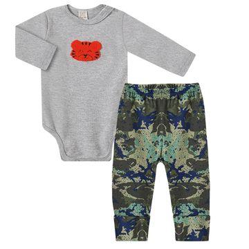 PL66477.V2-A-moda-bebe-menino-conjunto-body-longo-com-calca-mijao-com-pe-em-suedine-tigrinho-pingo-lele-no-bebefacil-loja-de-roupas-enxoval-e-acessorios-para-bebes