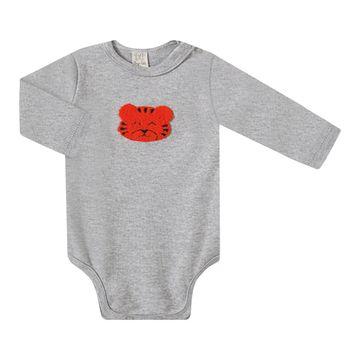 PL66477.V2-B-moda-bebe-menino-conjunto-body-longo-com-calca-mijao-em-suedine-tigrinho-pingo-lele-no-bebefacil-loja-de-roupas-enxoval-e-acessorios-para-bebes
