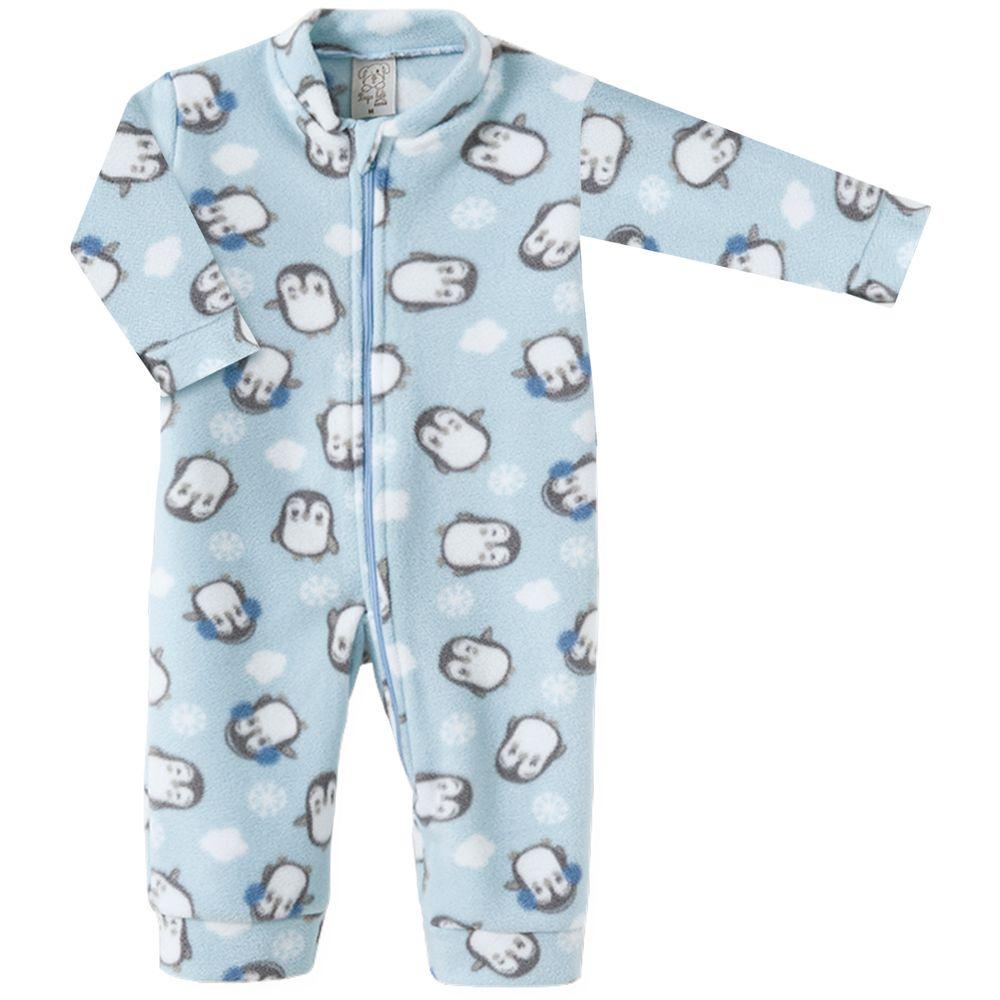 PL9028.PG-A-moda-bebe-menino-macacao-longo-com-ziper-em-microsoft-pinguim-azul-pingo-lele-no-bebefacil-loja-de-roupas-enxoval-e-acessorios-para-bebes