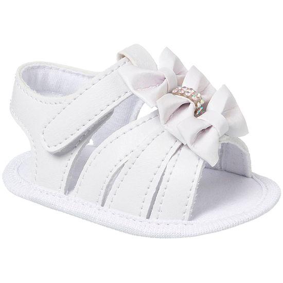 KB5289-8-A-Sandalia-para-bebe-Lacos-Branco---Keto-Baby