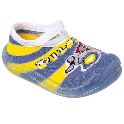 KB22038-41-A-Meia-c-Sola-para-bebe-Piloto-Amarelo---Keto-Baby