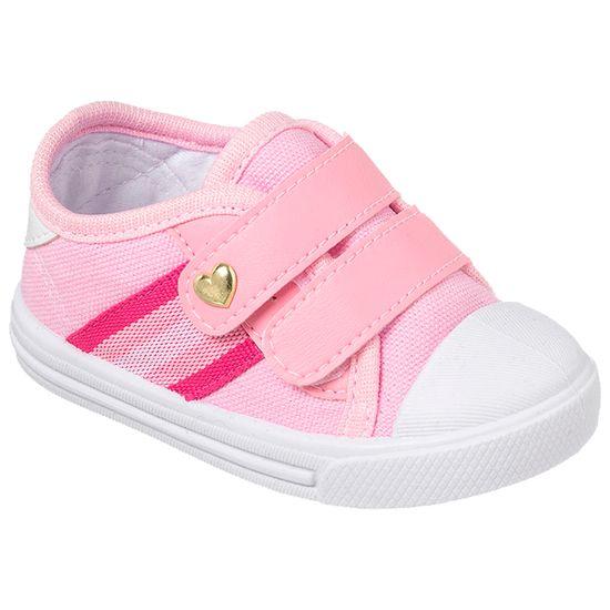 KB24016-7-A-Tenis-para-bebe-Star-Listras-Rosa---Keto-Baby