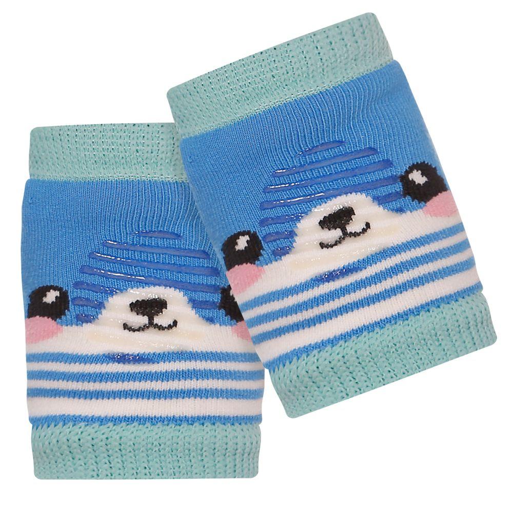 LK034.003-GU-A-moda-bebe-menino-acessorios-joelheira-para-bebe-guaxinim-azul-leke-no-bebefacil-loja-de-roupas-enxoval-e-acessorios-para-bebes