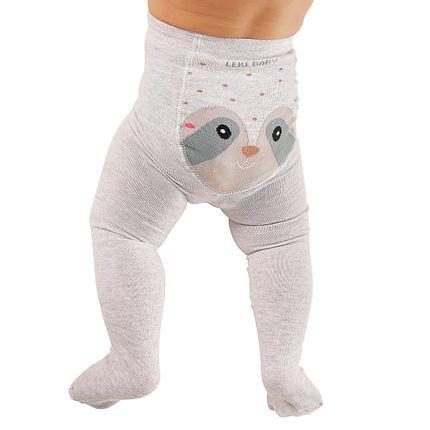 LK045.003-GU-A-moda-menino-menina-minhoco-unissex-para-bebe-algodao-guaxinim-mescla-no-bebefacil-loja-de-roupas-enxoval-e-acessorios-para-bebes