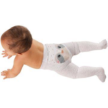 LK045.003-GU-B-moda-menino-menina-minhoco-unissex-para-bebe-algodao-guaxinim-mescla-no-bebefacil-loja-de-roupas-enxoval-e-acessorios-para-bebes
