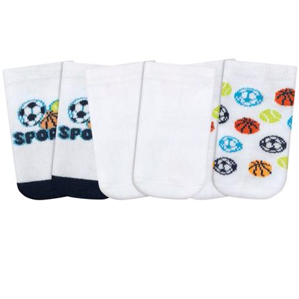 PK69845-SP-A-moda-bebe-menino-acessorios-tripack-kit-3-meias-sports-puket-no-bebefacil-loja-de-roupas-enxoval-e-acessorios-para-bebes