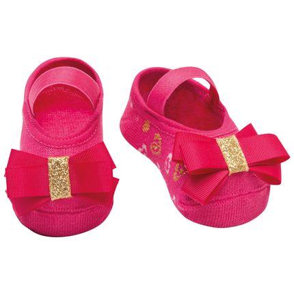 PK6939-RP-A-moda-bebe-menina-meia-sapatilha-rosa-pink-laco-puket-no-bebefacil-loja-de-roupas-enxoval-e-acessorios-para-bebes