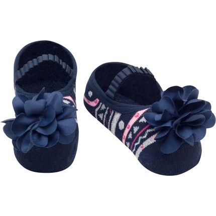 PK7033-MH-A-moda-bebe-menina-meia-sapatilha-marinho-puket-no-bebefacil-loja-de-roupas-enxoval-e-acessorios-para-bebes