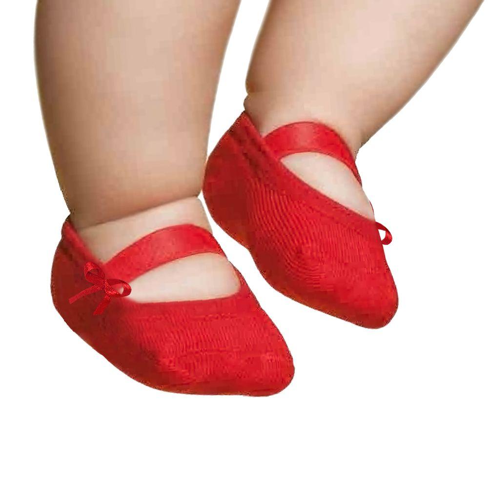 PK6926L-VR_A-moda-bebe-menina--meia-sapatilha-laco-vermelha-puket-no-bebefacil-loja-de-roupas-enxoval-e-acessorios-para-bebes
