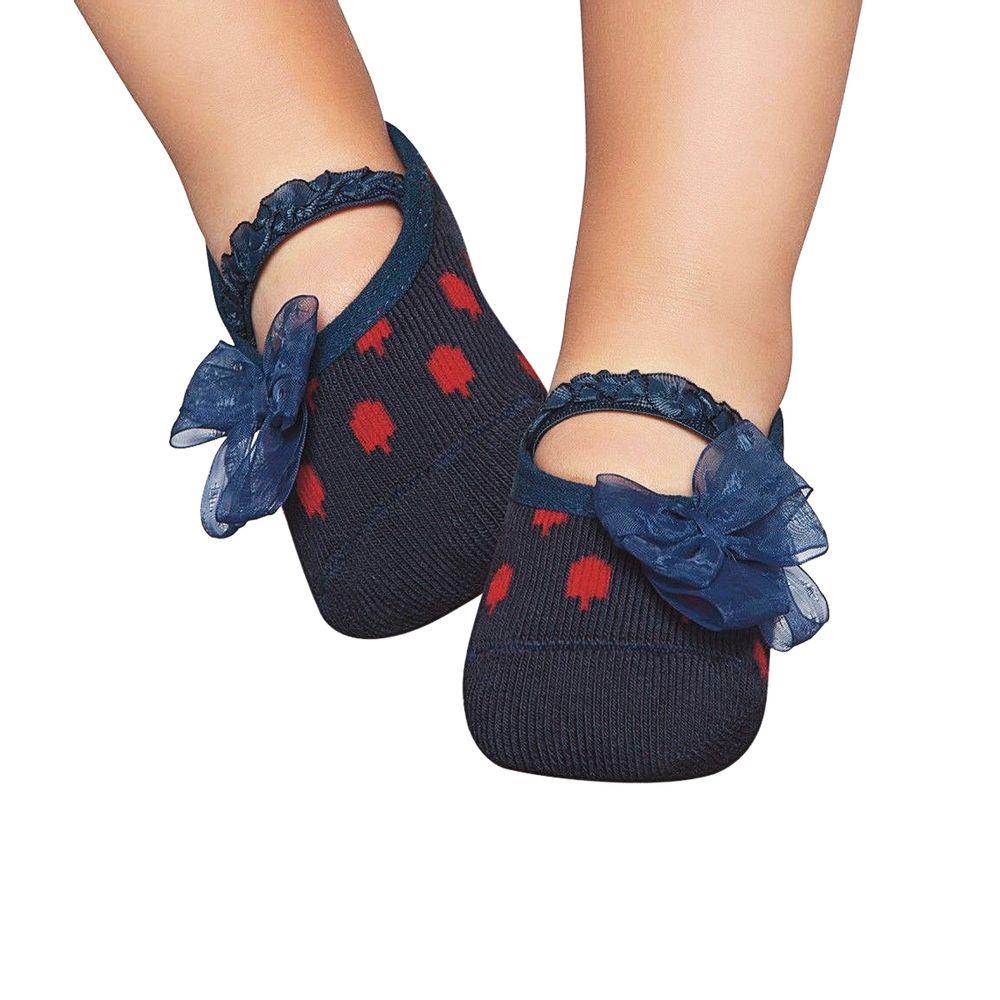 PK6939-MM-A-moda-menina-meia-sapatilha-lacos-marinho-puket-no-bebefacil-loja-de-roupas-enxoval-e-acessorios-para-bebes