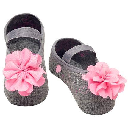 PK7033-MS-A-moda-bebe-menina-meia-sapatilha-coracoes-flor-mescla-puket-no-bebefacil-loja-de-roupas-enxoval-e-acessorios-para-bebes