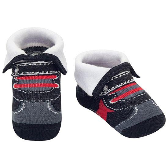 PK7021-BR-A-moda-bebe-menino-meia-sapatilha-canelado-mescla-puket-no-bebefacil-loja-de-roupas-enxoval-e-acessorios-para-bebes