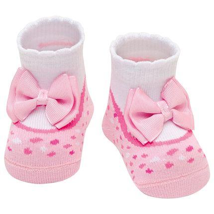 PK6935-RS-A-moda-bebe-menina-meia-soquete-soquete-laco-rosa-puket-no-bebefacil-loja-de-roupas-enxoval-e-acessorios-para-bebes