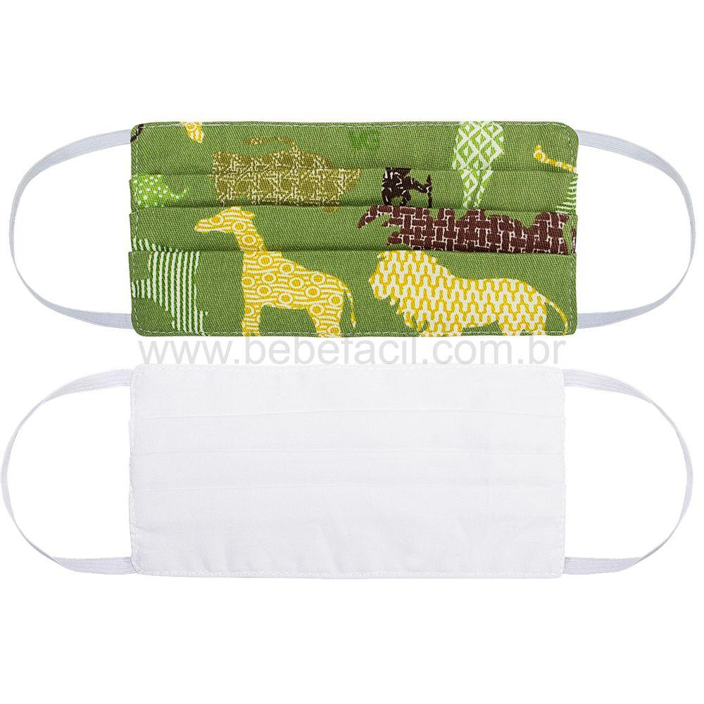 00012310260-A-cuidados-bebe-menino-mascara-de-protecao-kids-em-tecido-de-algodao-verde-branca-roana-bebefacil-loja-de-roupas-enxoval-e-acessorios-para-bebe
