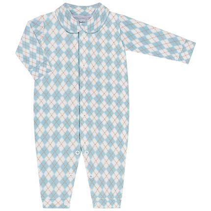 JUN51011_A-moda-bebe-menino-macacao-longo-com-golinha-em-microsoft-argyle-junkes-baby-no-bebefacil-loja-de-roupas-enxoval-e-acessorios-para-bebes