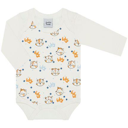 JUN41011_A-moda-bebe-menina-menino-body-longo-em-suedine-baby-junkes-baby-no-bebefacil-loja-de-roupas-enxoval-e-acessorios-para-bebes
