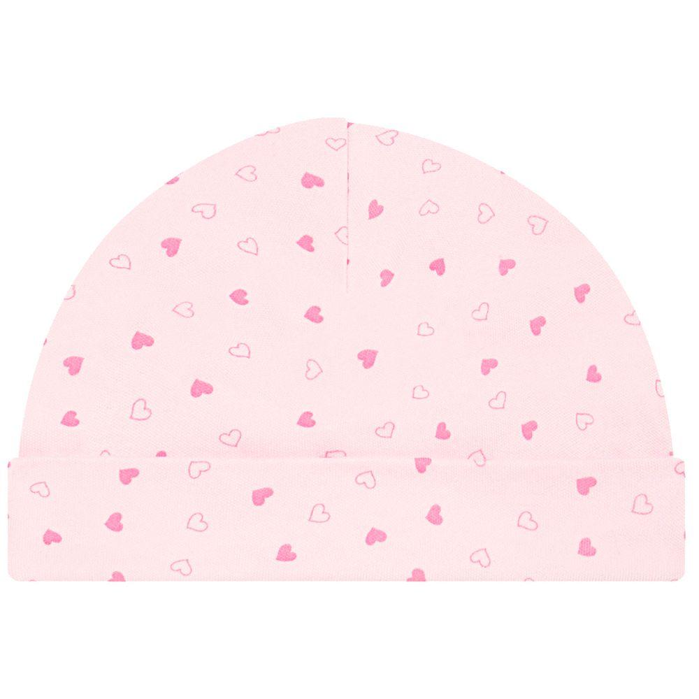 JUN30111_A-touca-em-suedine-coracoes-junkes-baby-no-bebefacil-loja-de-roupas-enxoval-e-acessorios-para-bebes