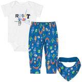 42848-0101-A-moda-bebe-menino-conjunto-body-curto-calca-mijao-babador-em-suedine-robozinhos-up-baby-no-bebefacil-loja-de-roupas-enxoval-e-acessorios-para-bebes