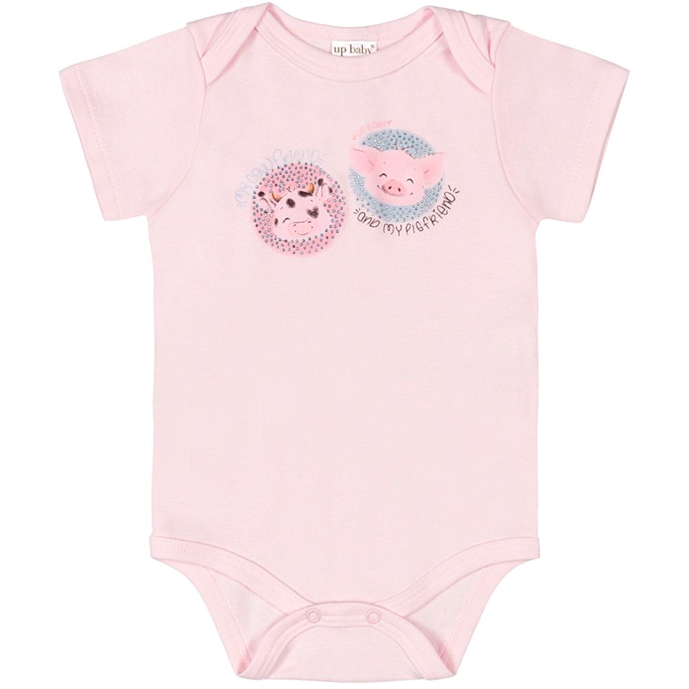 42824-3005-A-moda-bebe-menina-body-curto-em-suedine-friends-rosa-up-baby-no-bebefacil-loja-de-roupas-enxoval-e-acessorios-para-bebes