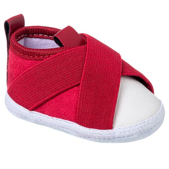 KB3250-40-A-Tenis-para-bebe-Slip-On-Vermelho---Keto-Baby