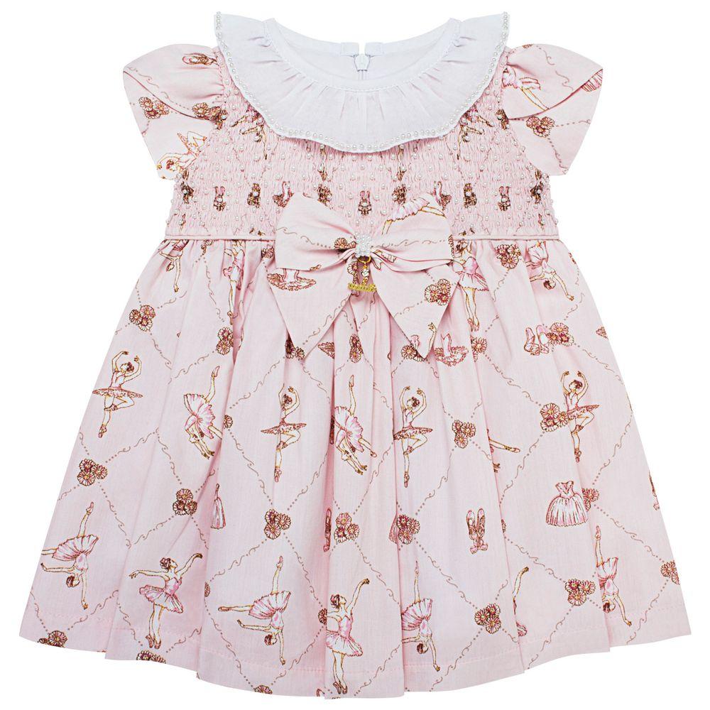 4748078C046_A-moda-bebe-menina-vestido-em-tricoline-casinha-de-abelha-bailarinas-roana-no-bebefacil-loja-de-roupas-enxoval-e-acessorios-para-bebes