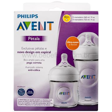 SCD101-01-L-Kit-Mamadeiras-Petala-125ml-e-260ml-0m---Philips-Avent