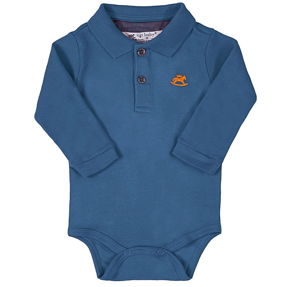 42722-5628-A-moda-bebe-menino-body-polo-em-suedine-azul-up-baby-no-bebefacil-loja-de-roupas-enxoval-e-acessorios-para-bebes