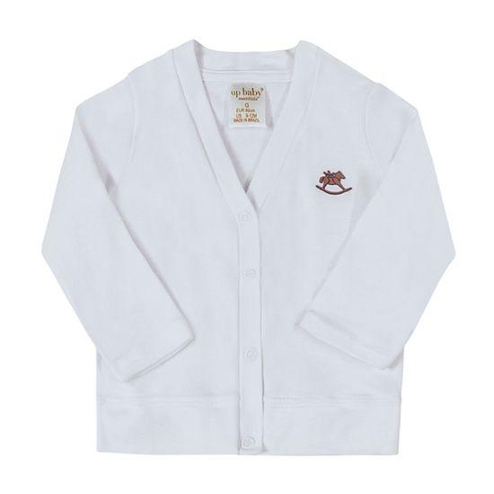 42727-0101-A-moda-bebe-menino-menina-casaco-suedine-branco-up-baby-no-bebefacil-loja-de-roupas-enxoval-e-acessorios-para-bebes