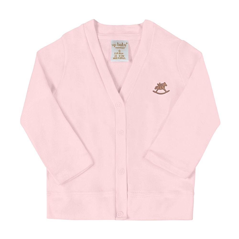 42727-3005-A-moda-bebe-menina-casaco-suedine-rosa-up-baby-no-bebefacil-loja-de-roupas-enxoval-e-acessorios-para-bebes