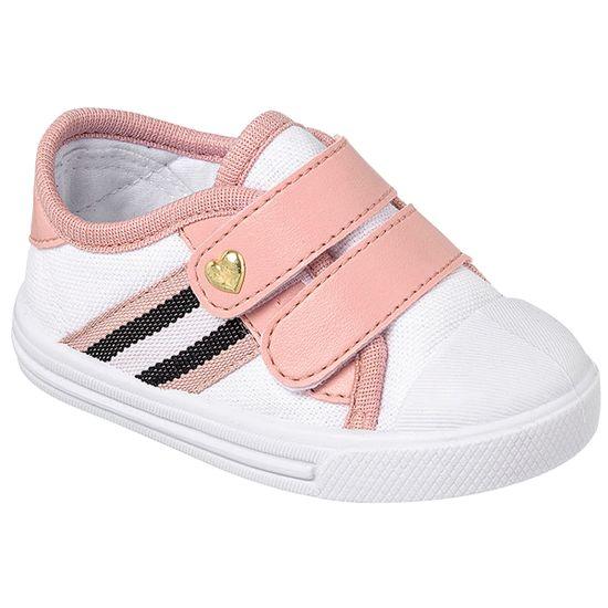 KB24016-169-A-Tenis-para-bebe-Star-Listras-Rosa-Branco---Keto-Baby