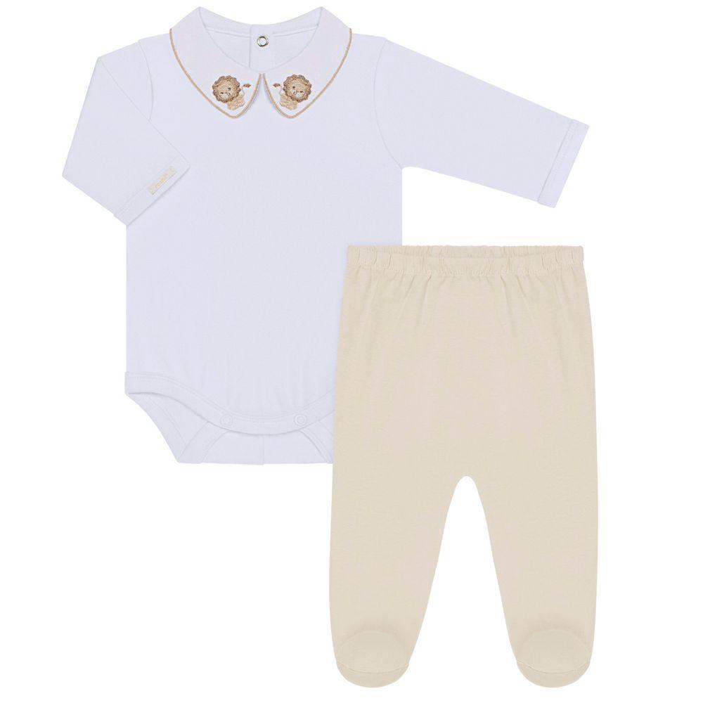2469028005-A-moda-bebe-menino-conjunto-body-longo-com-calca-em-malha-leao-roana-no-bebefacil-loja-de-roupas-enxoval-e-acessorios-para-bebes