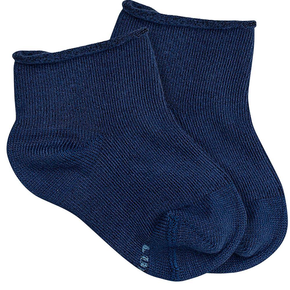 LU02051-001.2860-A-moda-bebe-menina-menino-acessorios-meia-soquete-sem-punho-marinho-lupo-no-bebefacil-loja-de-roupas-enxoval-e-acessorios-para-bebes