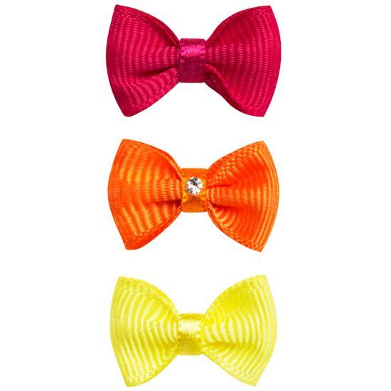 00819003314_A-moda-bebe-menina-acessorios-kit-3-lacos-em-gorgurao-pink-laranja-amarelo-roana-no-bebefacil-loja-de-roupas-enxoval-e-acessorios-para-bebes