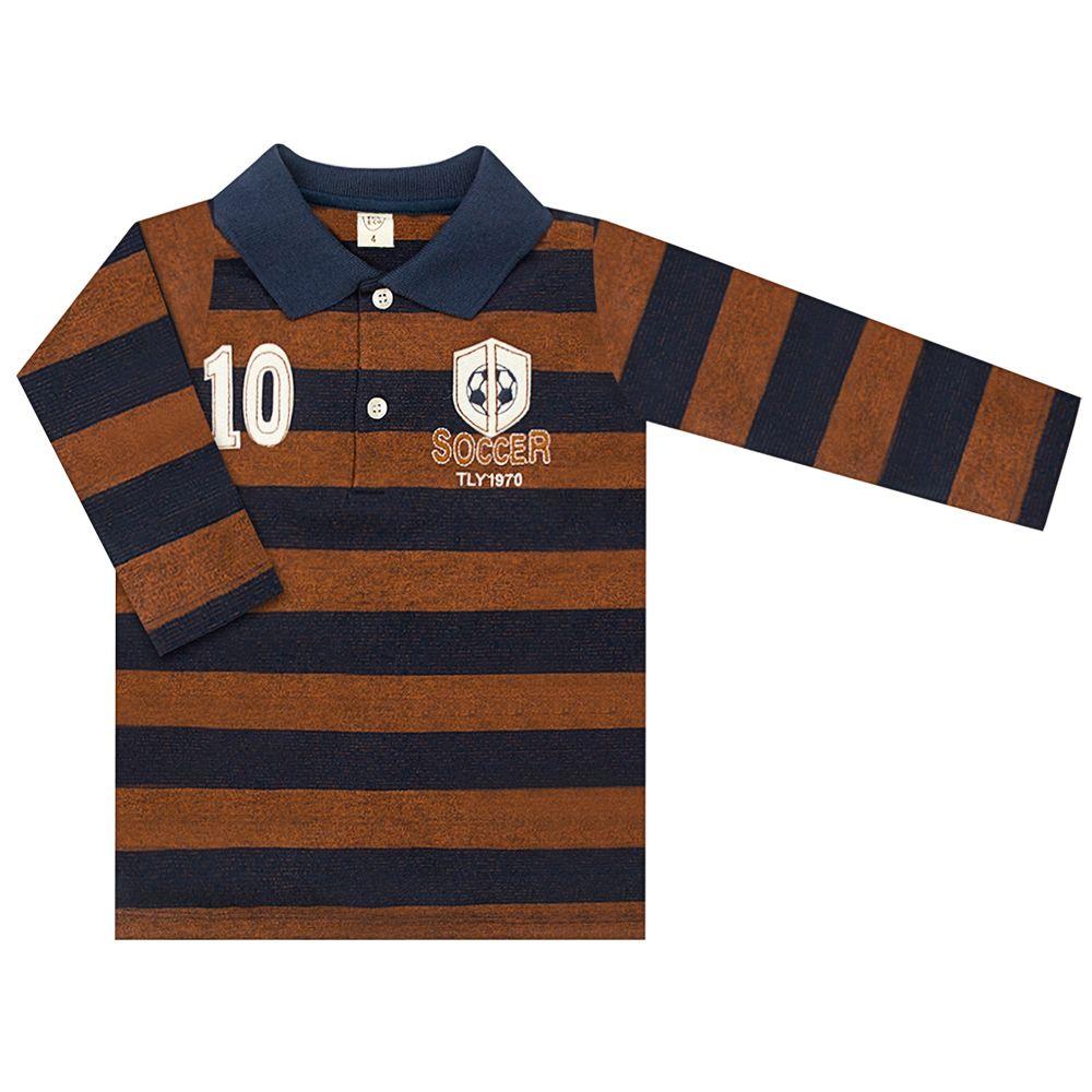 TB206006-A-moda-bebe-menino-camisa-polo-longo-piquet-listrada-soccer-tilly-baby-no-bebefacil-loja-de-roupas-enxoval-e-acessorios