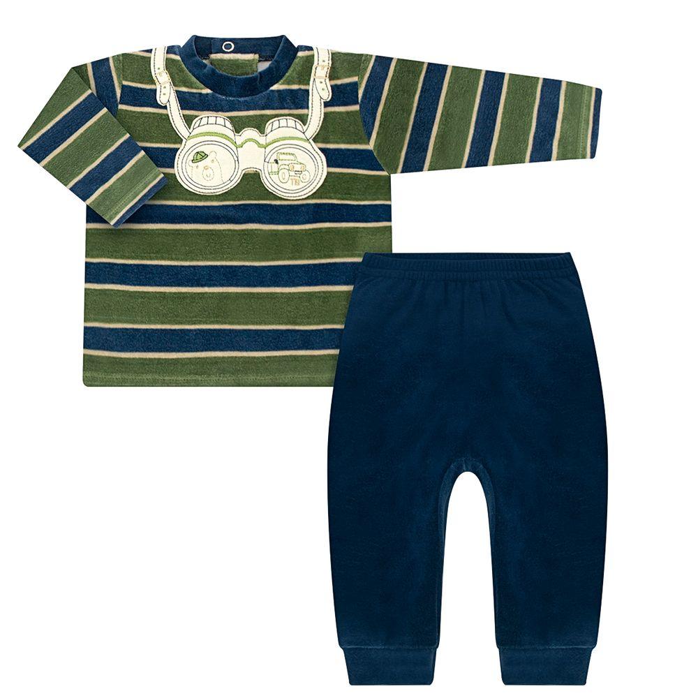 TB202300-A-moda-bebe-menino-blusao-calca-e-Calca-para-bebe-plush-binoculos-tilly-baby-no-bebefacil-loja-de-roupas-enxoval-e-acessorios-para-bebes