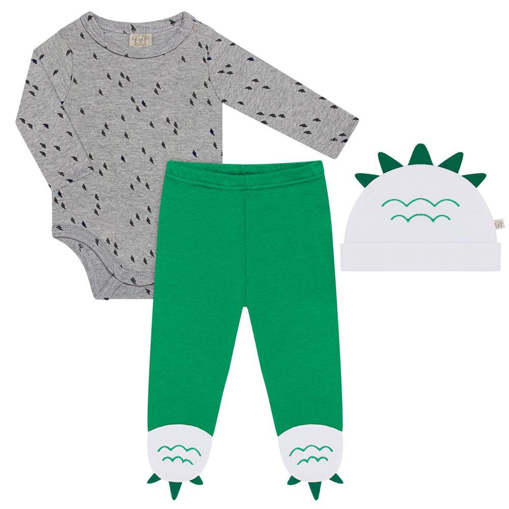 PL66578_A-moda-bebe-menino-body-longo-calca-e-touca-em-suedine-dino-pingo-lele-no-bebefacil-loja-de-roupas-enxoval-e-acessorios-para-bebes