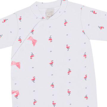 PL66529-RN-BR_C-moda-bebe-menina-macacao-longo-com-touca-lacinhos-em-suedine-flamingo-branco-pingo-lele-no-bebefacil-loja-de-roupas-enxoval-e-acessorios-para-bebes