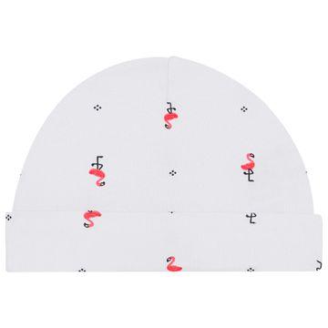 PL66529-RN-BR_E-moda-bebe-menina-macacao-longo-com-touca-lacinhos-em-suedine-flamingo-branco-pingo-lele-no-bebefacil-loja-de-roupas-enxoval-e-acessorios-para-bebes